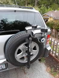 toyota rav4 spare tire bike rack toyota rav4 forums