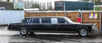 limousines for sale us president donald s 1988 cadillac limousine is for sale