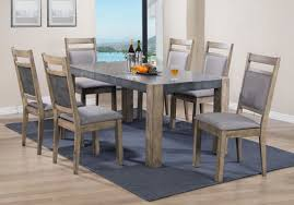 roundhill furniture costabella 7 piece dining set wayfair
