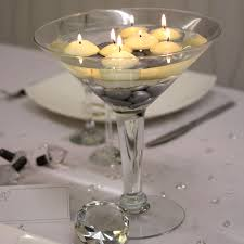 martini glass centerpieces stemless martini glasses crustpizza decor