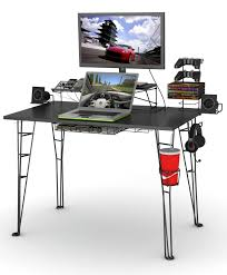 gaming l shaped desk amazon com atlantic gaming desk not machine specific kitchen