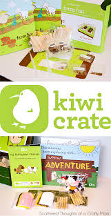 a craft subscription box you and the kids will love scattered