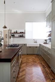 before and after a beautiful traditional kitchen renovation