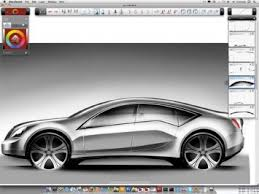 auto design software sketchbook designer 2011 combines freehand drawing and vector