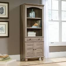 Wooden Bookcase With Doors Rc Willey Sells Bookcases For Your Home Office