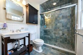 Slate Tile Bathroom Shower Bathroom Slate Pretty Blue Slate Tile Bathroom Country 3 4 With