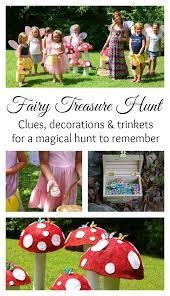 backyard treasure hunt fairy party treasure hunt with clues the mom creative