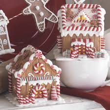 raz gingerbread house ornaments raz peppermint kitchen