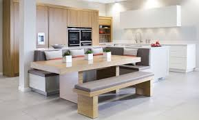 ex display kitchen islands large oak and white ex display kitchen painted l shape island