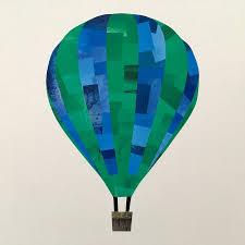 hot air balloon wall sticker by chameleon wall art hot air balloon wall sticker