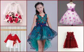 kids party wear dresses collection 2017 for boys and girls by pink