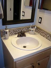 bathroom backsplash images best bathroom decoration pedestal sink tile backsplash home design ideas bathroom sink backsplash tile