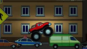monster truck videos for kids online sergeant cooper the police car real city heroes rch videos