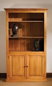 Pine Bookcase With Doors Best 25 Corner Display Unit Ideas On Pinterest Display And Wall
