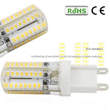 110v 3w silicone coated g9 led bulb omni directional g9 light