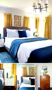 apartments lovable blue and gold bedroom decorating ideas home