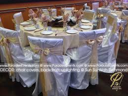 wedding backdrop rental vancouver chair cover rental vancouver paradise events wedding decor decor