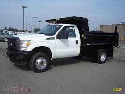 Ford F350 Dump Truck With Plow - 2011 ford f350 super duty xl regular cab 4x4 chassis dump truck in