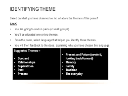 view of scotland poem ppt