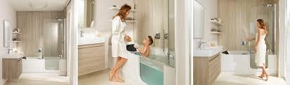 kleines badezimmer kleines bad ganz groß mit der twinline duschbadewanne