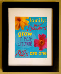quotes about family inspirational quotes about family as framed art print an 8x10 free
