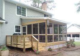 covered porch plans modern shed roof screened porch plans