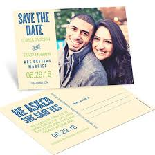 save the dates postcards save the date postcards custom designs from pear tree
