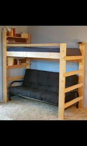 Build My Own Bunk Beds by Easy Strong Cheap Bunk Bed Diy Wood Projects Pinterest