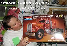 model trucks kenworth adventures in modeling 1 16th scale kenworth w900 vlog 1 youtube