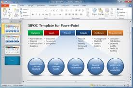 How To Make A Sipoc Diagram Sipoc Template