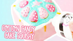 cotton candy cake squishy deco teasetreats youtube