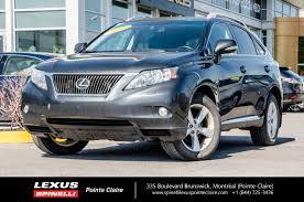 lexus rx blacked out used 2011 lexus rx 350 premium 2 awd cam cuir toit for sale in