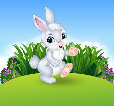 rabbit material easter rabbit vector material 04 vector animal free