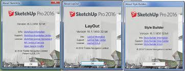 sketchup pro 2016 16 1 1450 win mac vray