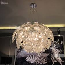 Clear Acrylic Chandelier New Modern Apple Pendant L Dining Living Room Suspension