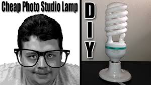 how to make studio lights at home for cheap to improve your