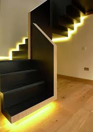 decorations modern staircase lighting best stair lighting ideas
