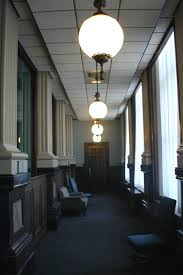 corridor lighting illinois state capitol vinci hamp architects