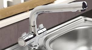 Kitchen Mixer Taps  Kitchen Sink Pillar Taps AQVA Bathrooms - Kitchen sink pillar taps