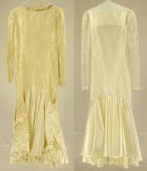 Dry Clean Wedding Dress Mold Damage Repaired On A Vintage Silk Satin Wedding Gown The