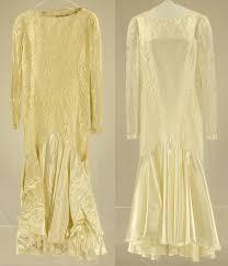 wedding dress restoration mold damage repaired on a vintage silk satin wedding gown laundry