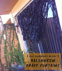 Halloween Outdoor Decorations by Creepy Halloween Drape Curtains Unique Halloween Outdoor