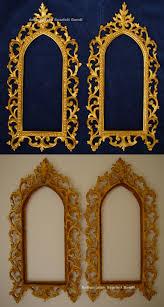 antiker spiegel gold antike bilderrahmen barockrahmen mit blattvergoldung