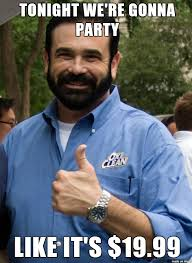 Billy Mays Meme - billy mays be in the afterlife like meme on imgur