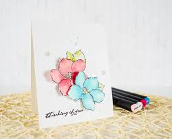 painted cards for sale 142 best altenew hibiscus images on diy cards