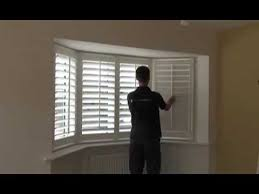 Measuring Window Blinds Measuring A Upvc Bay Window For Diy Shutters Youtube