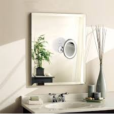 amazon com ruimio lighted makeup mirror with 7x magnification and