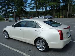 2013 cadillac ats white ats in white photo courtesy gm the about cars