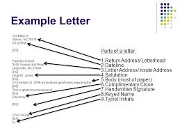 business letters eq how do we write a business letter ppt