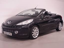 peugeot convertible used black peugeot 207 for sale hampshire